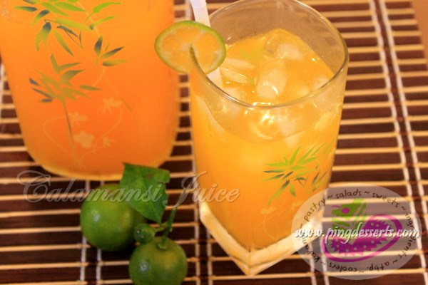 Calamansi Juice Recipe