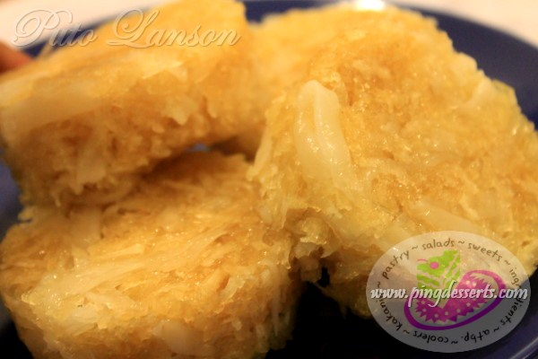 Puto Lanson Recipe