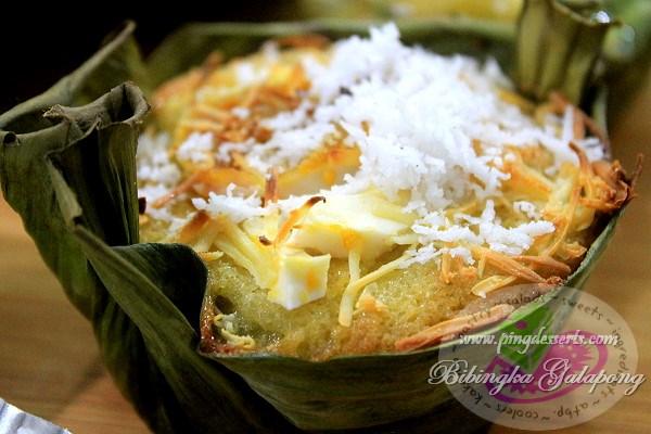 Bibingka na Galapong Recipe