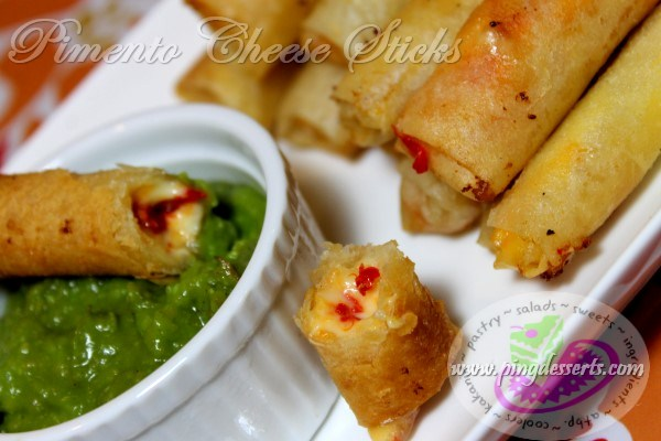 Pimento Cheese Sticks Recipe