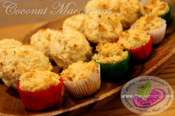 Coconut Macaroons 1 Recipe