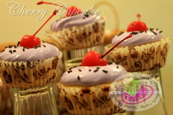 Cherry Cupcake Recipe