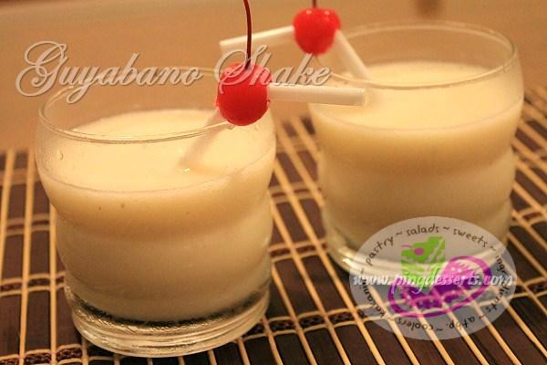 Guyabano Shake Recipe
