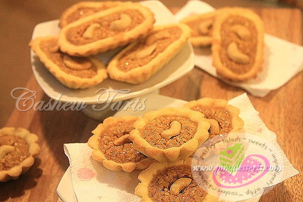 Cashew Tarts Recipe