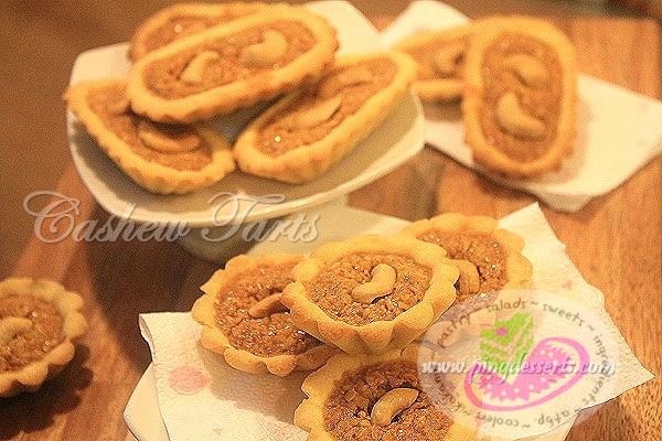 cashew tart 1