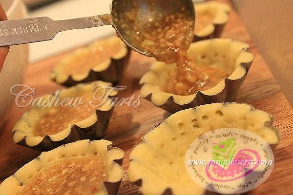 cashew tart 3