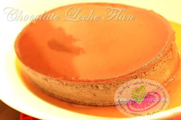 chocolate leche flan recipe1