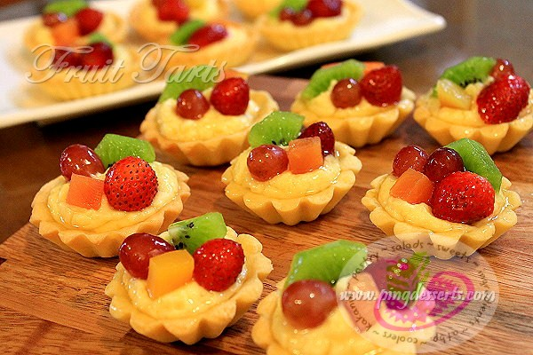 fruit tarts recipe 1