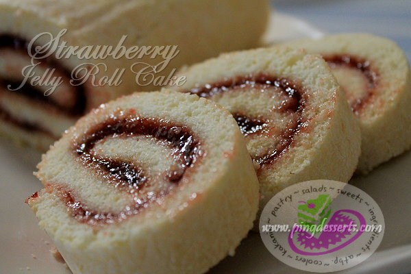 jelly roll strawberry recipe