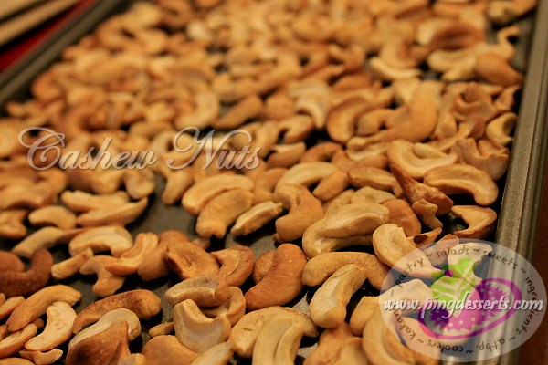 cashews for sans rival