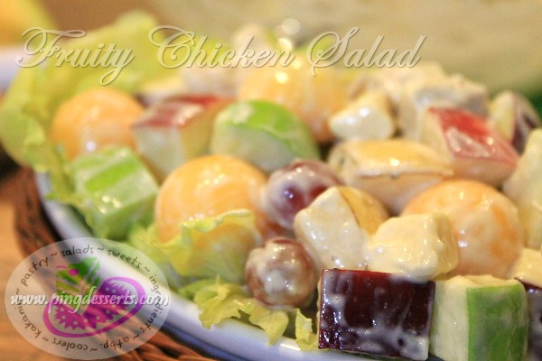 fruit salad filipino white fruit