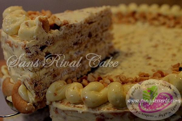 Sans Rival Recipe | Filipino Dessert Recipes by PingDesserts.com