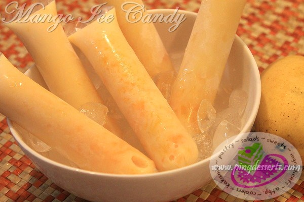 Mango Ice Candy Recipe