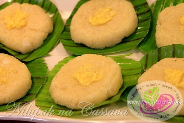 nilupak na cassava recipe