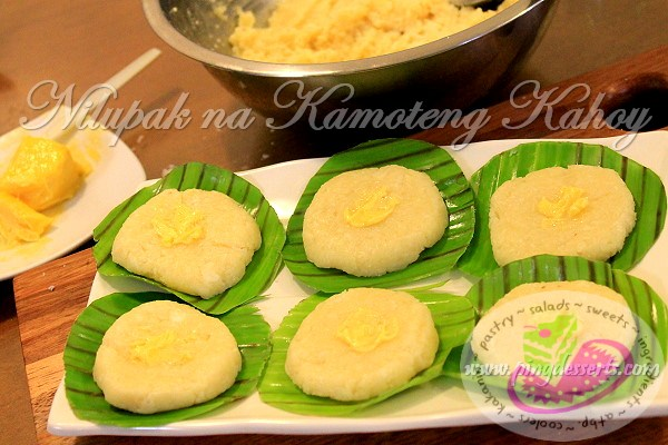 Nilupak na Kamoteng Kahoy Recipe