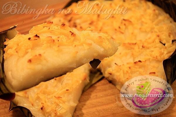 Bibingka na Malagkit Recipe