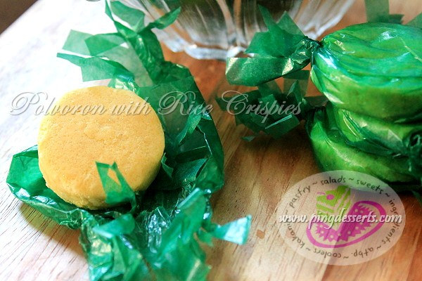 Polvoron with Rice Crispy Recipe