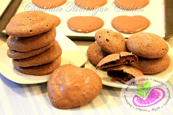 Chocolate Meringue Cookies Recipe