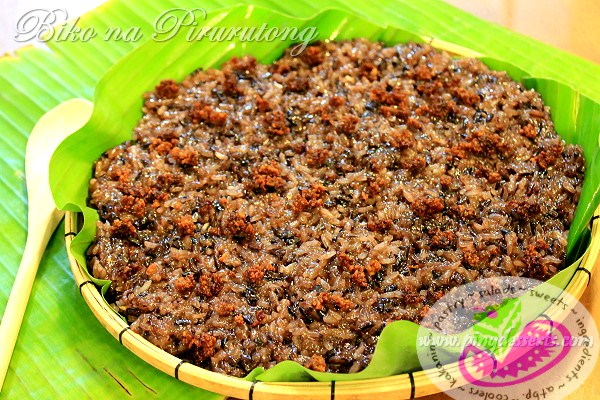 Biko na Pirurutong Recipe