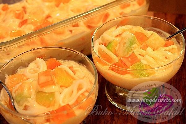buko - melon salad 1