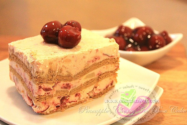 pineapple-cherry ice box cake3