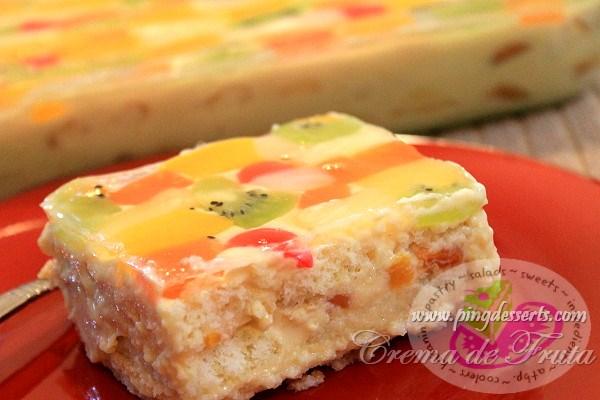 Filipino Cake Recipes With Pictures : Crema de Fruta Recipe Filipino Dessert Recipes by ...