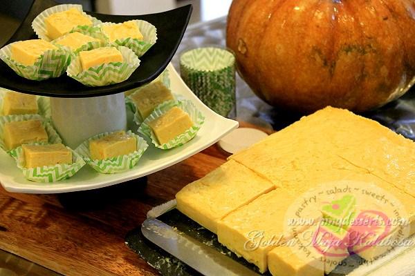 Golden Maja Kalabasa Recipe