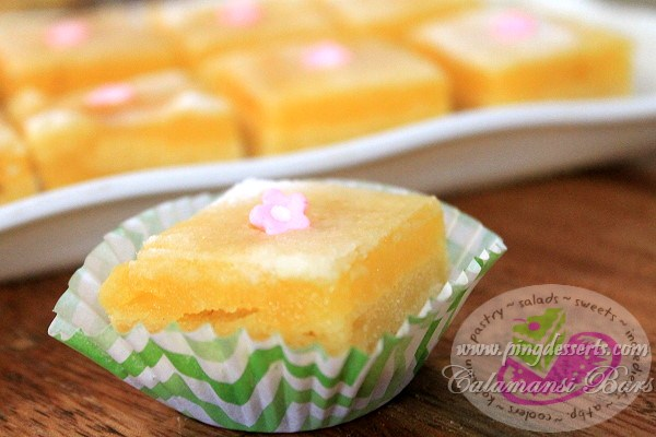 Calamansi Bars Recipe