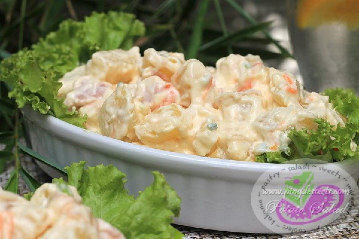 How To Make Potato Salad Panlasang Pinoy