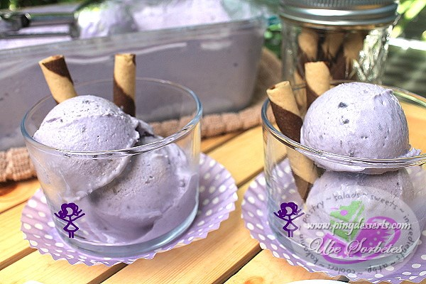 Ube Sorbetes Recipe