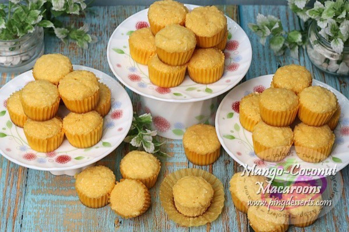 No Oven Mango Coconut Macaroons Recipe Na Pang Negosyo Filipino Dessert Recipes By Pingdesserts Com